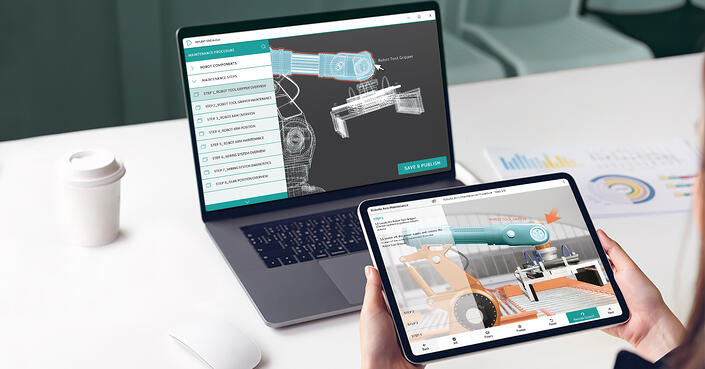 How to create AR solutions from your existing Siemens Teamcenter data