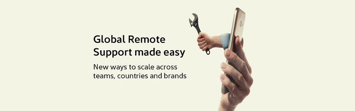 Global Remote Support made easy: New ways to scale across teams, countries and brands
