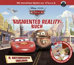 Cars Augmented Reality Buch