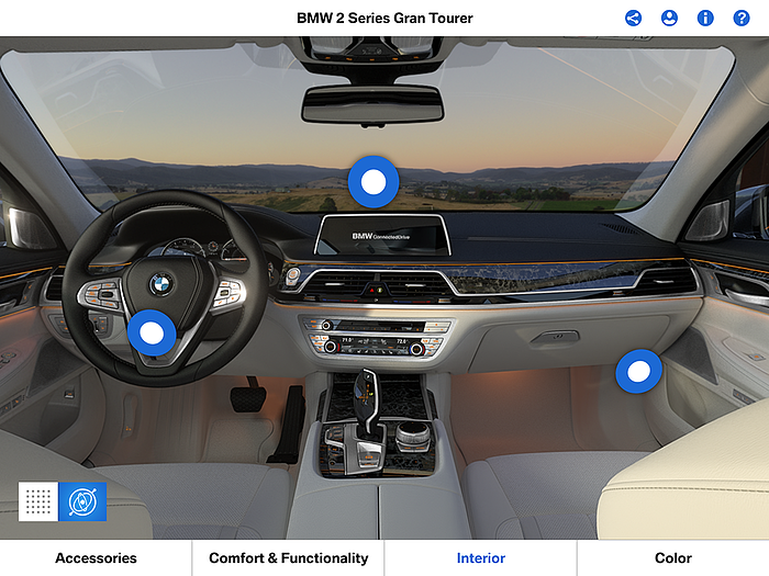BMW Augmented Reality UX