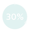 icon of 30% reduced downtimes