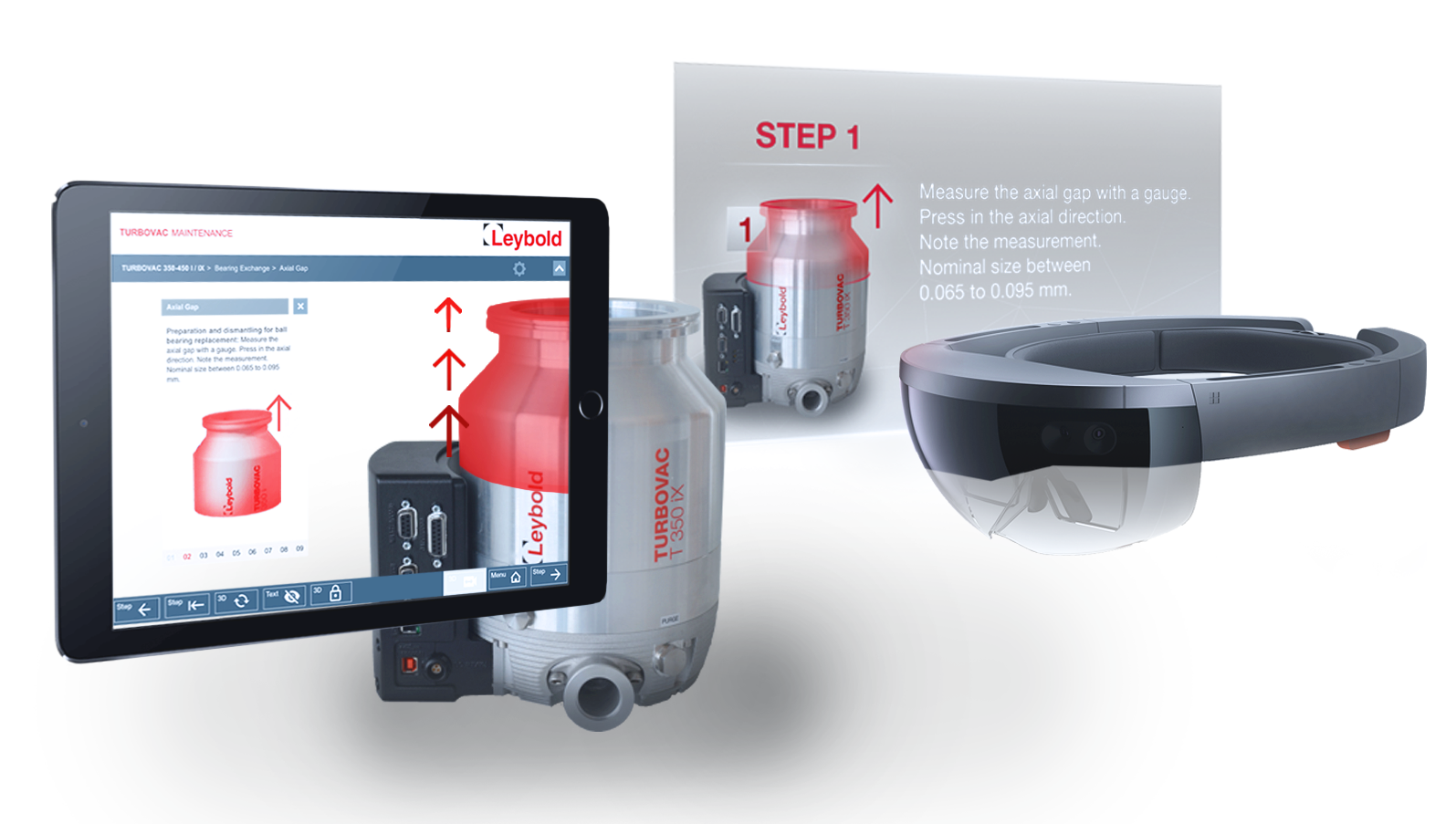 Augmented Reality Maintenance and Training for Leybold