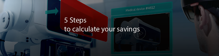 5 Steps to calculate your savings: The AR Value Creator Tool for Industrial Enterprises