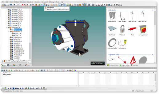 CAD and XML tools in reflekt remote augmented reality software